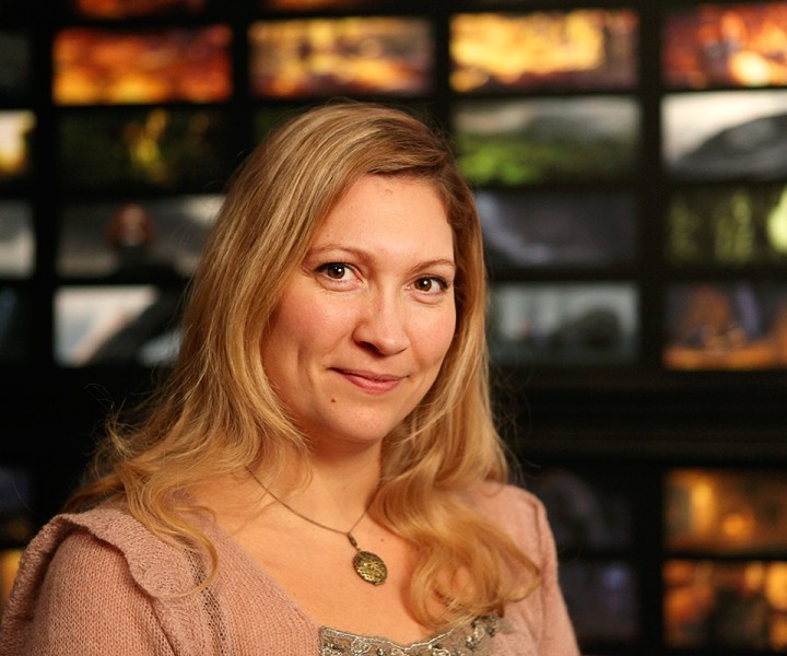 Tanja Krampfert has her photo taken on January 10, 2012 at Pixar Animation Studios in Emeryville, Calif. (Photo by Deborah Coleman / Pixar)