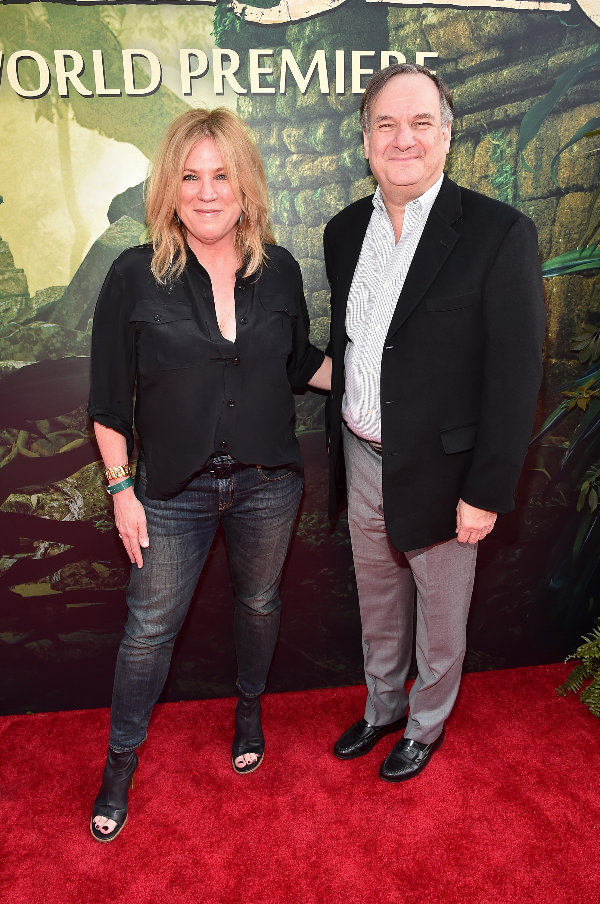 """HOLLYWOOD, CALIFORNIA - APRIL 04:  Executive producer Molly Allen and visual effects supervisor Robert Legato attends The World Premiere of Disney's """"THE JUNGLE BOOK"""" at the El Capitan Theatre on April 4, 2016 in Hollywood, California.  (Photo by Alberto E. Rodriguez/Getty Images for Disney) *** Local Caption *** Robert Legato; Molly Allen"""