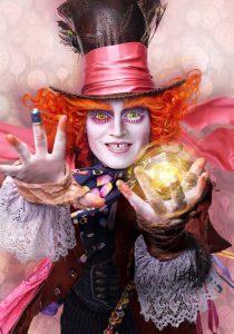 Johnny Depp ist der Verrückte Hutmacher