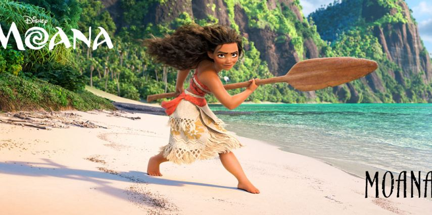 AULI'I CRAVALHO lends her voice to the title character, MOANA, a teenager who dreams of becoming a master wayfinder. ©2016 Disney. All Rights Reserved.