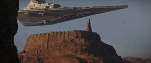 Rogue One: A Star Wars Story..Star Destroyer..Ph: Film Frame ILM/Lucasfilm..©2016 Lucasfilm Ltd. All Rights Reserved.