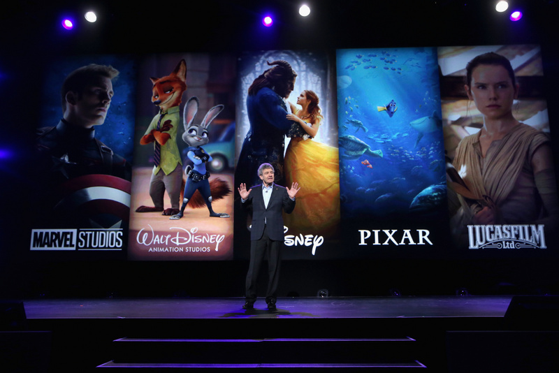 ANAHEIM, CA - JULY 15:  The Walt Disney Studios Chairman Alan Horn took part today in the Walt Disney Studios live action presentation at Disney's D23 EXPO 2017 in Anaheim, Calif.  (Photo by Jesse Grant/Getty Images for Disney) *** Local Caption *** Alan Horn