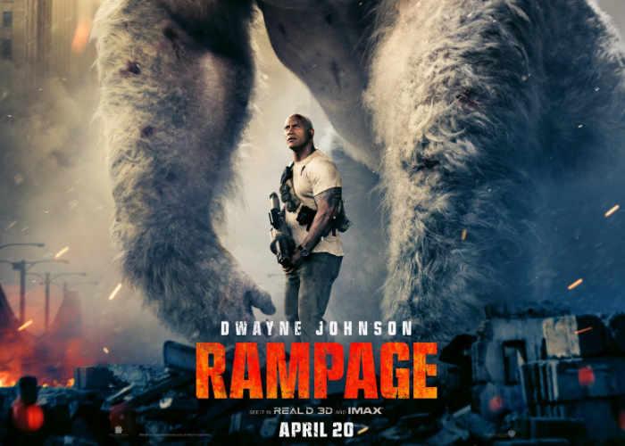 Рэмпейдж трейлер (2018) с 12 апреля в кинотеатрах