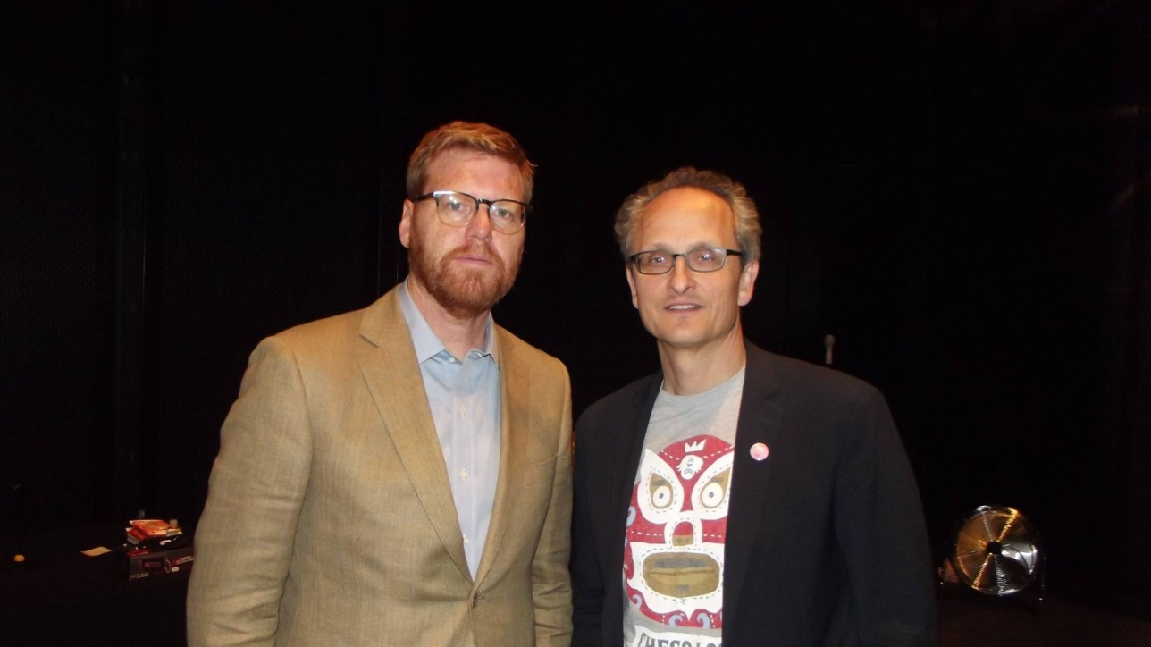 John Kahrs (left) & Jan Pinkava (right) (c) INDAC