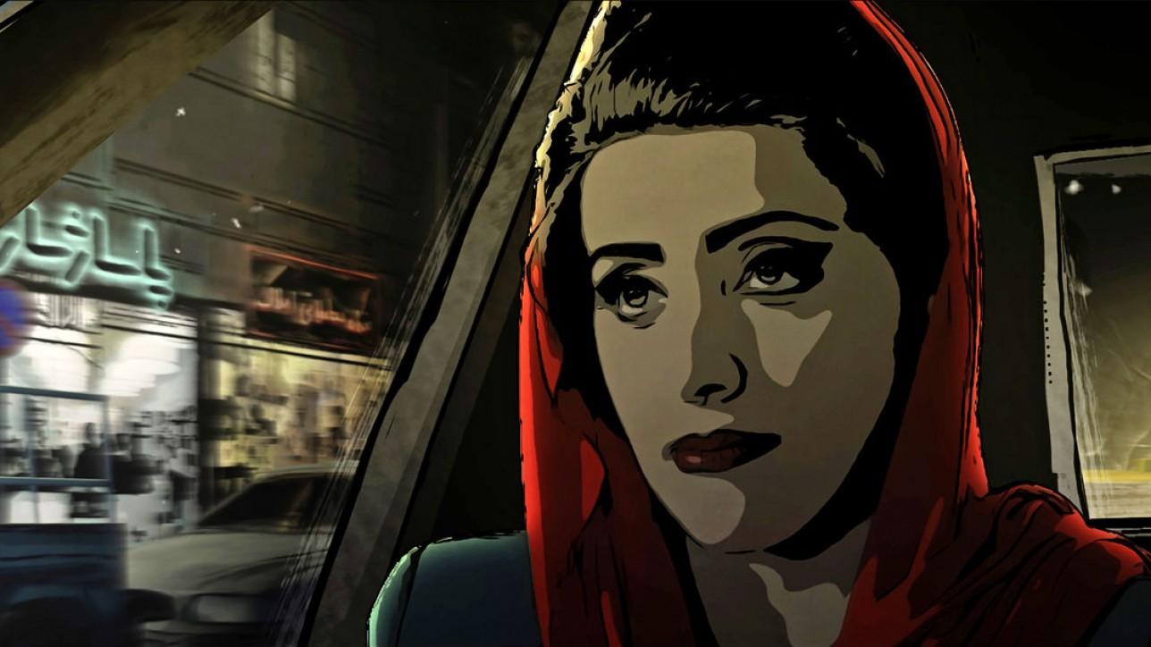 Pari in a Taxi *** Local Caption *** Teheran Tabu (OmeU), Tehran Taboo, Ali Soozandeh, D/A, 2017, V'17, Spielfilme