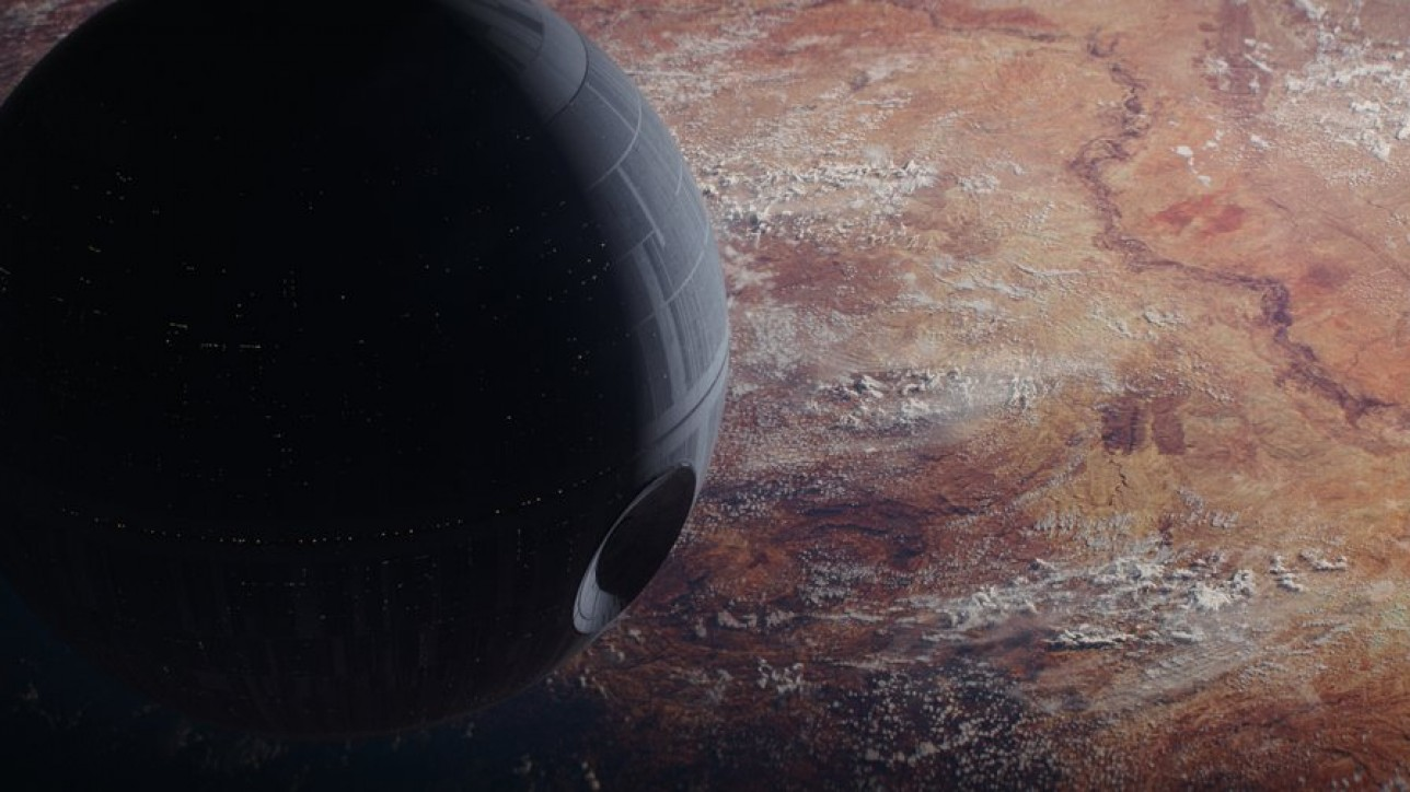 Rogue One: A Star Wars Story..The Death Star..Ph: Film Frame ILM/Lucasfilm..©2016 Lucasfilm Ltd. All Rights Reserved.