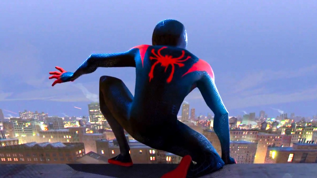 SPIDER-MAN: INTO THE SPIDER-VERSE - Official Teaser Trailer (screen grab) CR: Sony Pictures Entertainment
