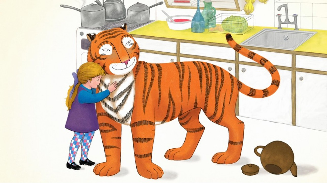 The Tiger Who Came to Tea: - unit still