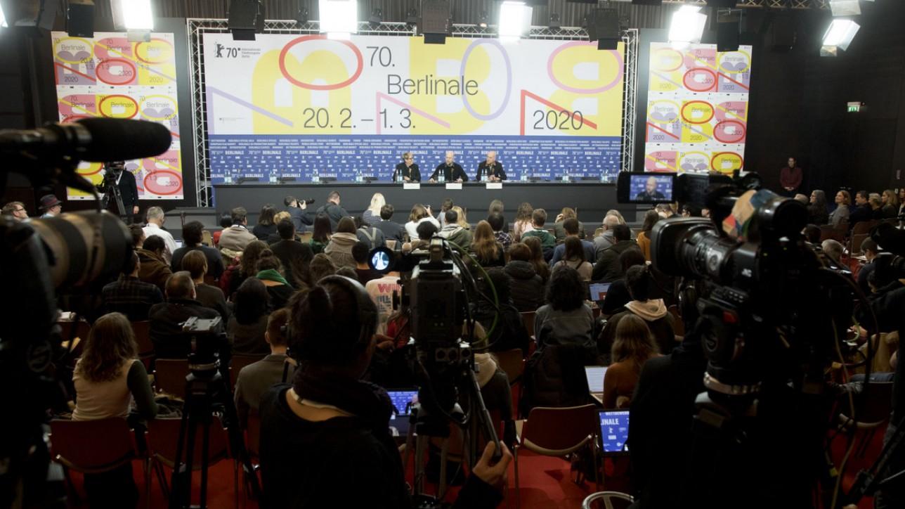 2020/02/21 Berlin German Film Festival Berlinale, Disney's Onward..Pressconference..Dan Scanlon, Kori Rae
